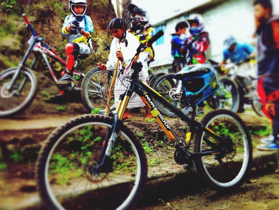 Downhill Bicycle Ecuador Nukeproof On Your Bike