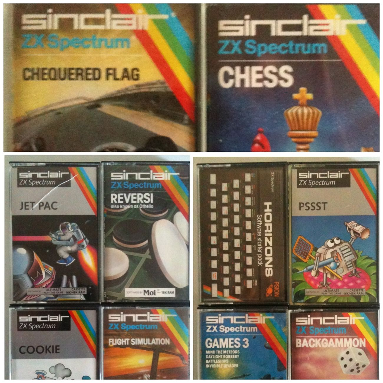 Sinclair  ZX Spectrum Software