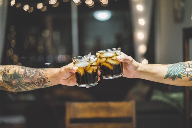 Sometimes Rum and Coke is just the answer. Cups Alchohol Drink Tattoo Selective Focus Hand Arm Depth Of Field SONY A7ii Liquor Check This Out