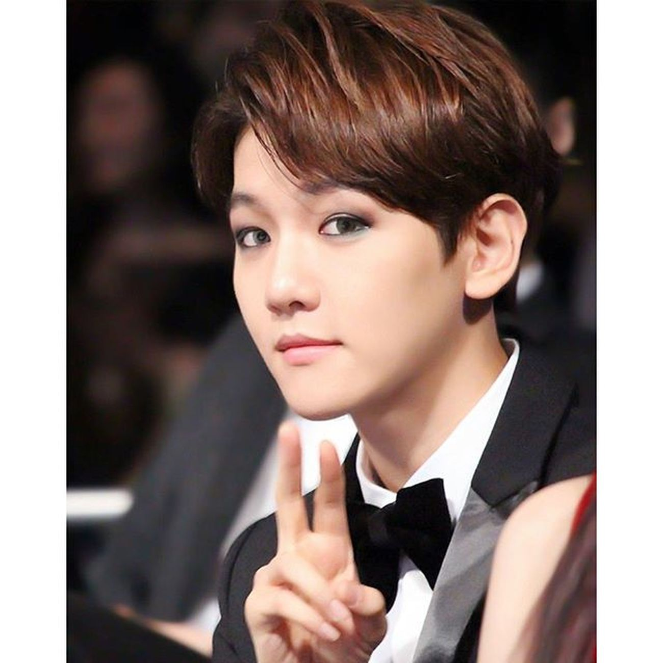 EXO Byun Baek Hyun byunbaekhyun mreyeliner @baekhyunee_exo
