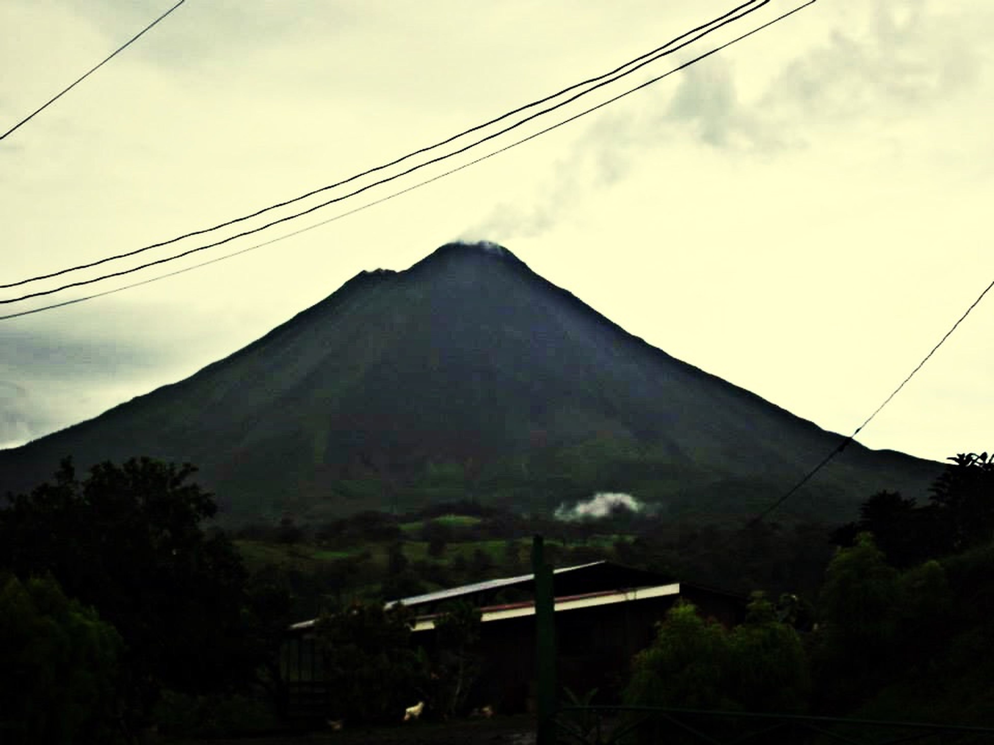 One volcano in my beautiful country Costa Rica Volcano Costa Rica Photography