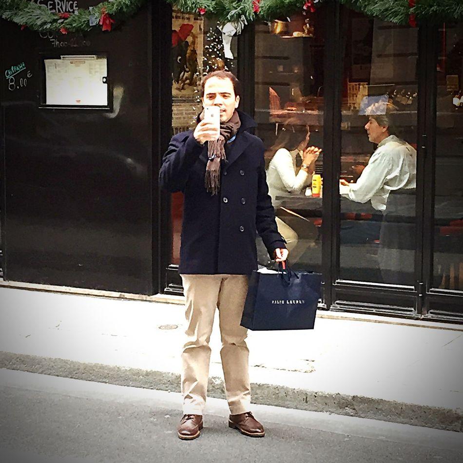 Merry Christmas! Me Paris ❤ Polo Ralph Lauren