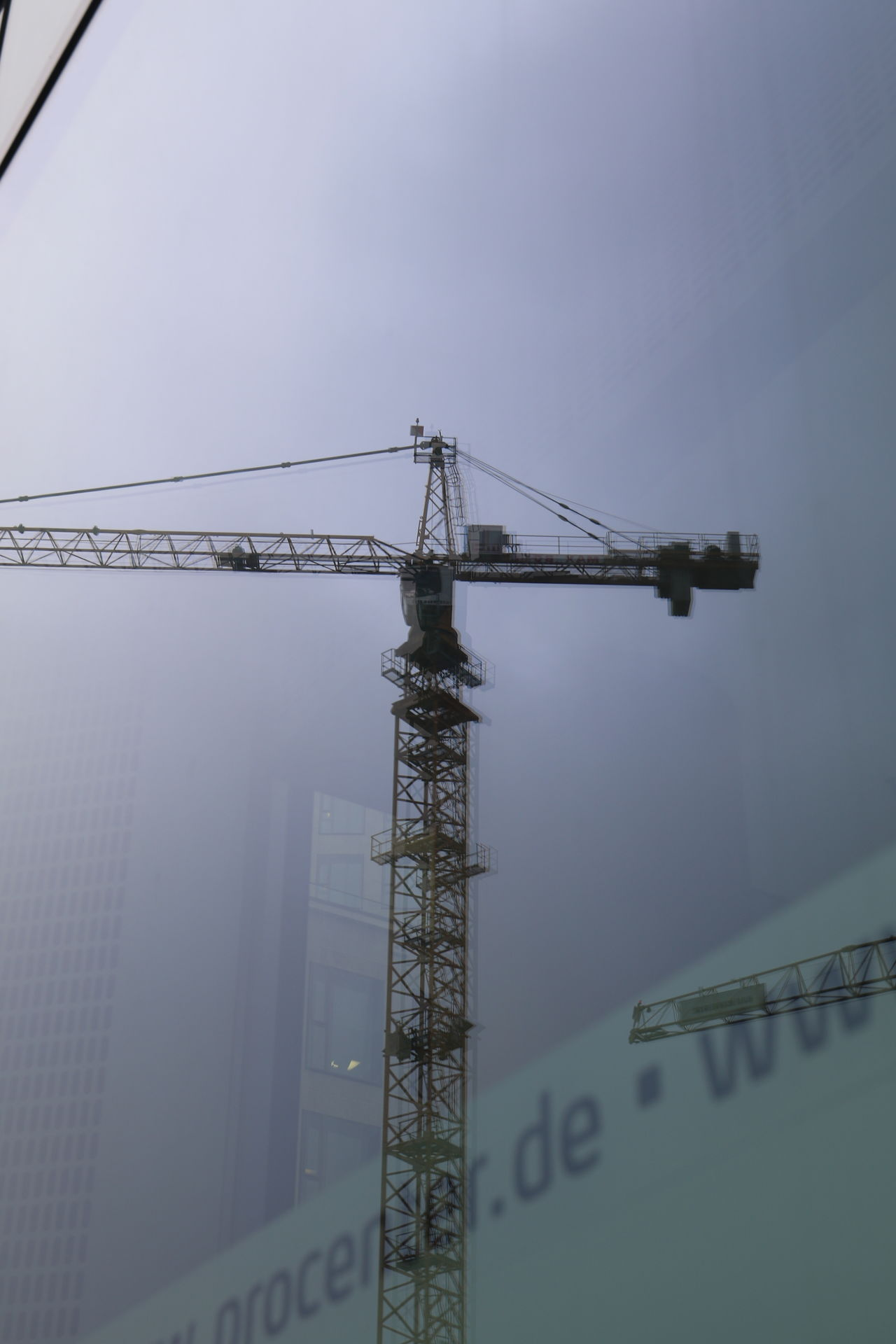 Built Structure Construction Construction Site Crane Day Development Engineering Industry Mirror Image, Reflection, Reflexion No People Outdoors Sky Technology
