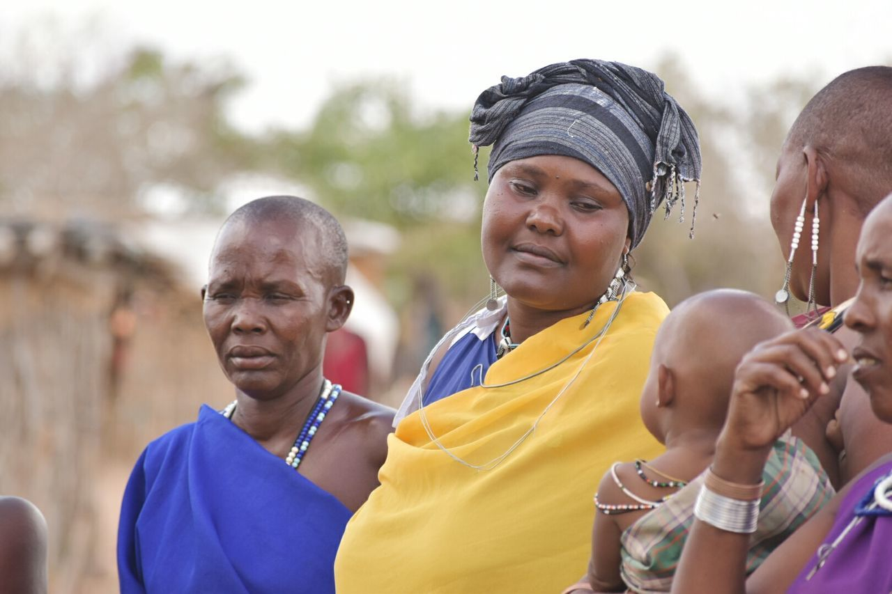 Women Around The World Masai Woman Portrait Africanwoman Women Around The World
