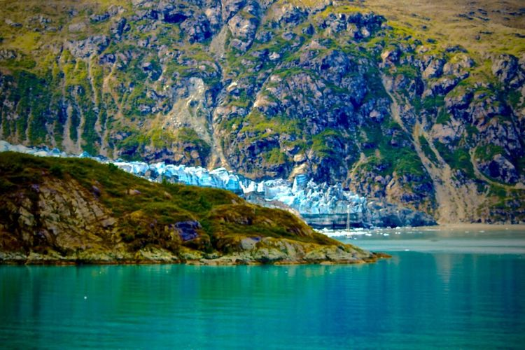 See This Beauty While You quickly Last Frontier Alaska Rugged Beauty In Nature Blue Ice Glacier Blue Water Cold Curved Glacier Day Explore Nature No People Outdoor Photography Outdoors Travel Destinations Unique Beauty Vacation