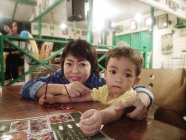 Cute 😊😃 Cute Baby Happy :) Baby Boy Dinner Thailand