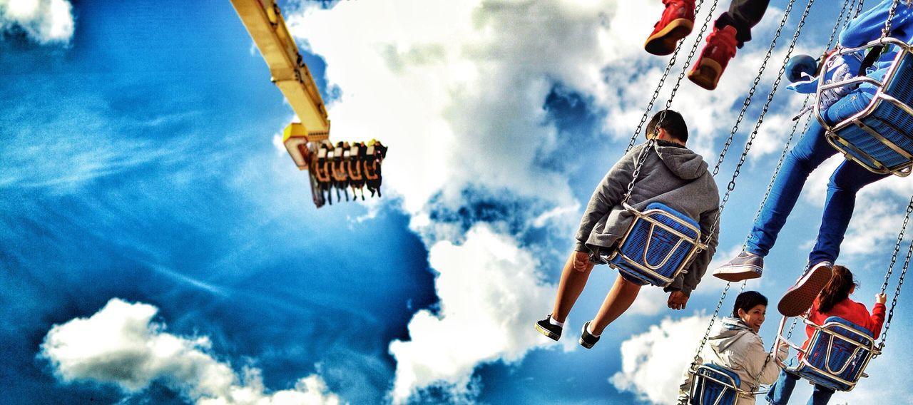 Schueberfouer Fair Sky Manège  Jahrmarkt Amusementpark