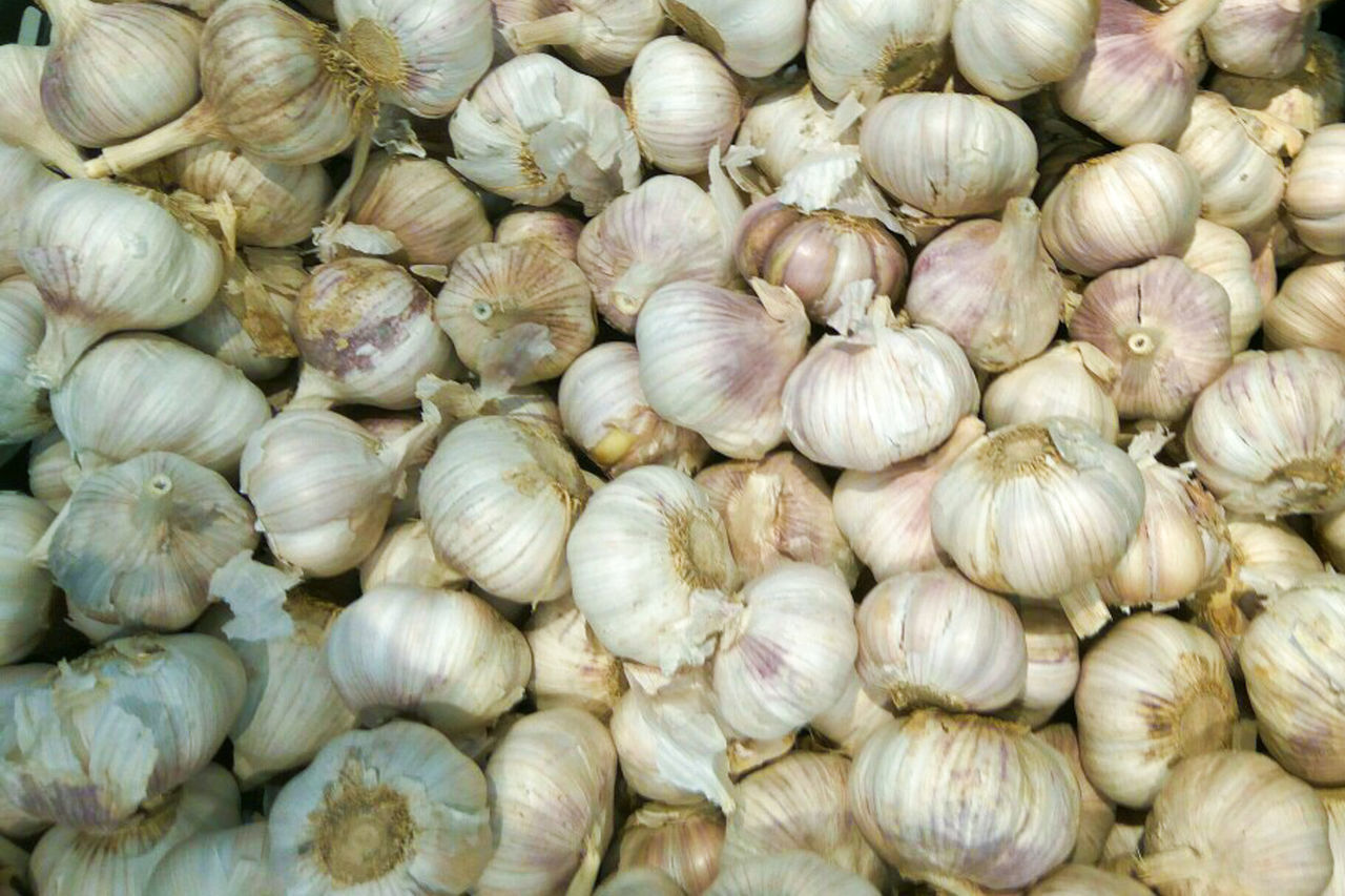 garlic, food, garlic bulb, backgrounds, full frame, food and drink, spice, plant bulb, healthy eating, ingredient, no people, stack, freshness, heap, braided, condiment, outdoors, day, close-up