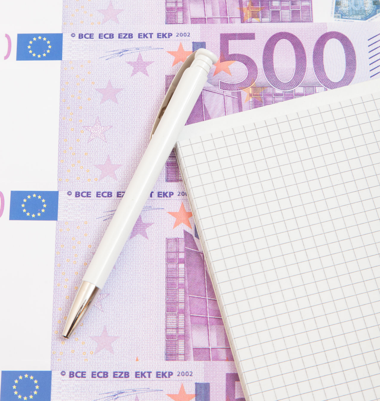 Beautiful stock photos of geld, Business, Close-Up, Currency, Directly Above
