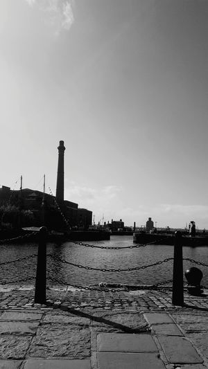 Water No People Sky Day Architecture Outdoors Liverpool Albert Docks Black & White