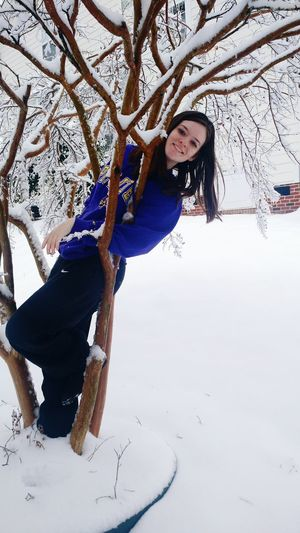 North Carolina Snow Trees Outdoors Hanging Out Enjoying Life That's Me Nature