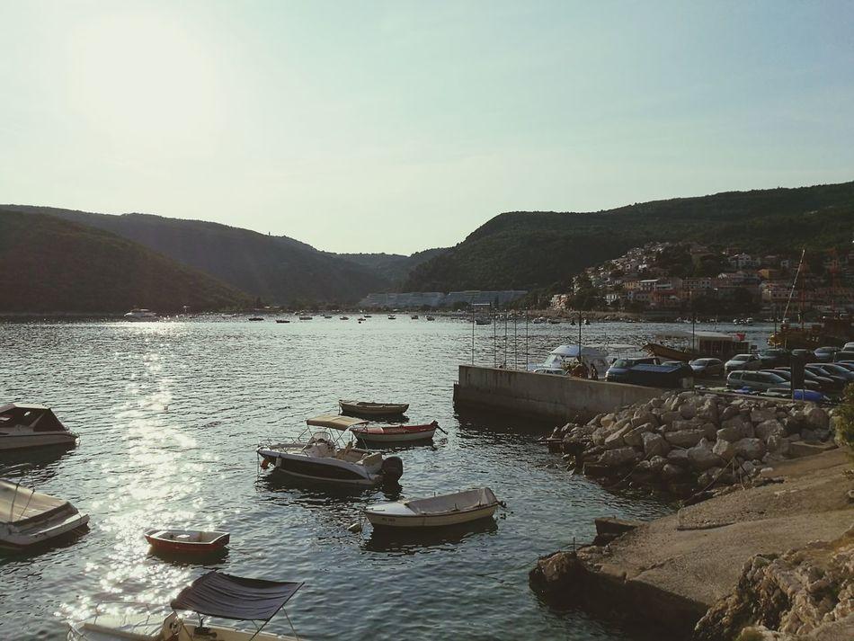 Kroatien Hafen Rabac First Eyeem Photo