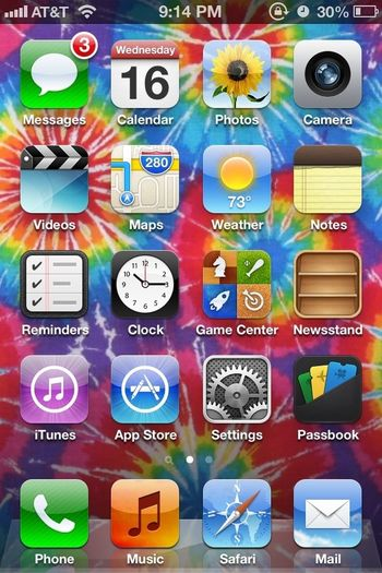 I just rlly like my home screen