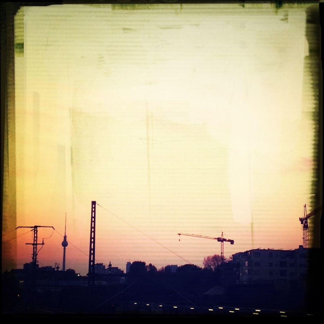 #Ostkreuz #Sunset #Sonnenuntergang Berlin Berlin Ostkreuz Ostkreuz