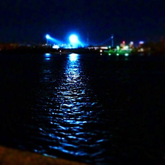 Night time Illuminated No People Nature Sky Transportation Krasnoyarsk