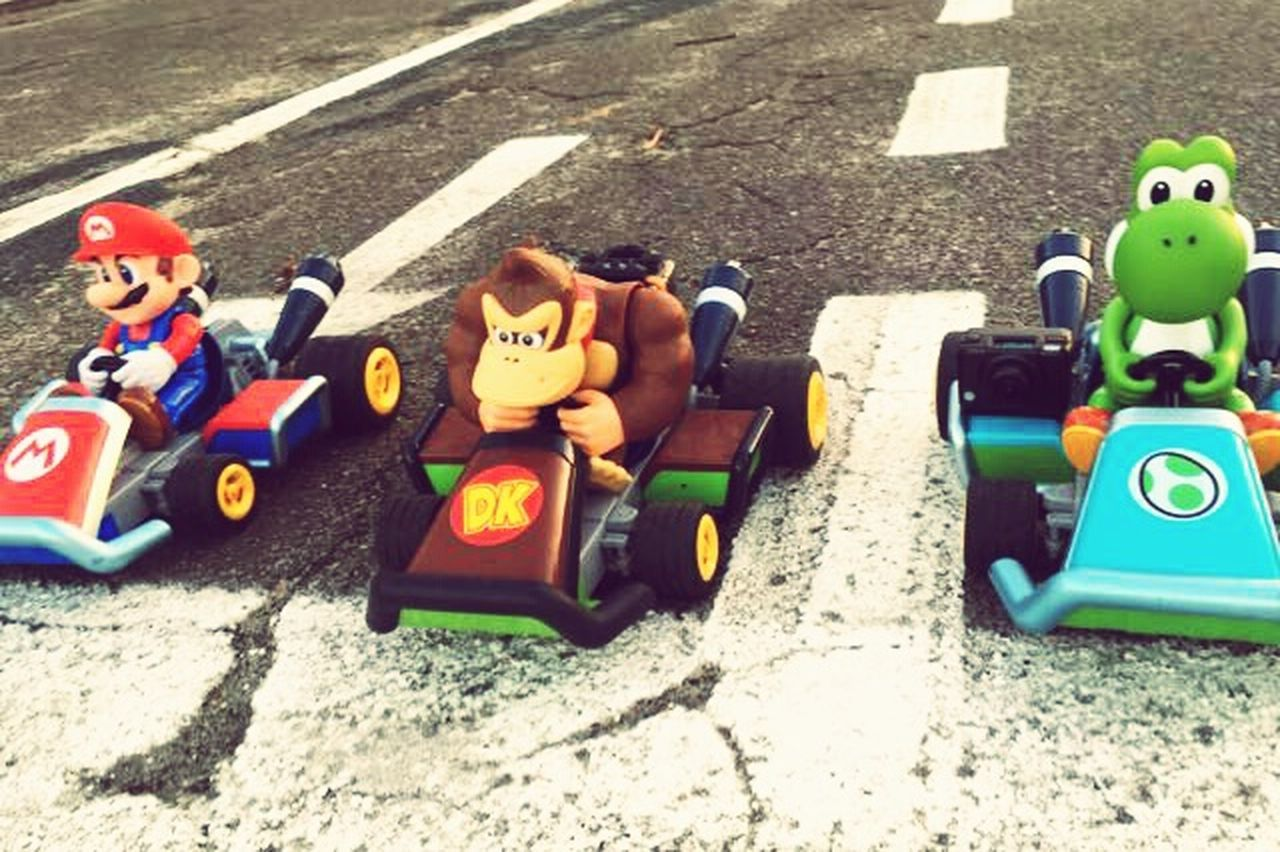 Mario Kart 8 Outdoors Starting Line No People Mariokart Mario Yoshi Donkey Kong Race Streetracer