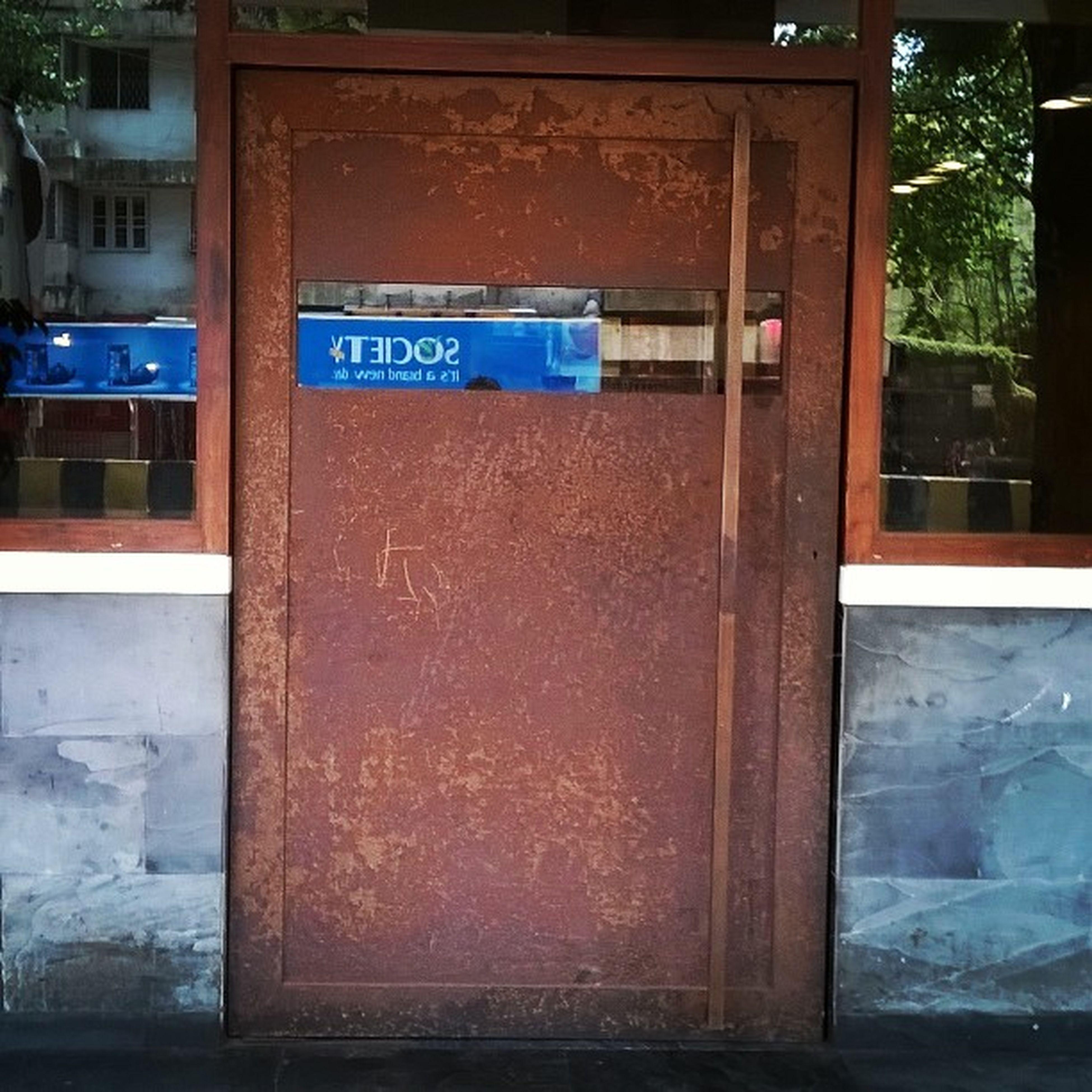 A reflection of society Mumbai Societytea Rustydoor