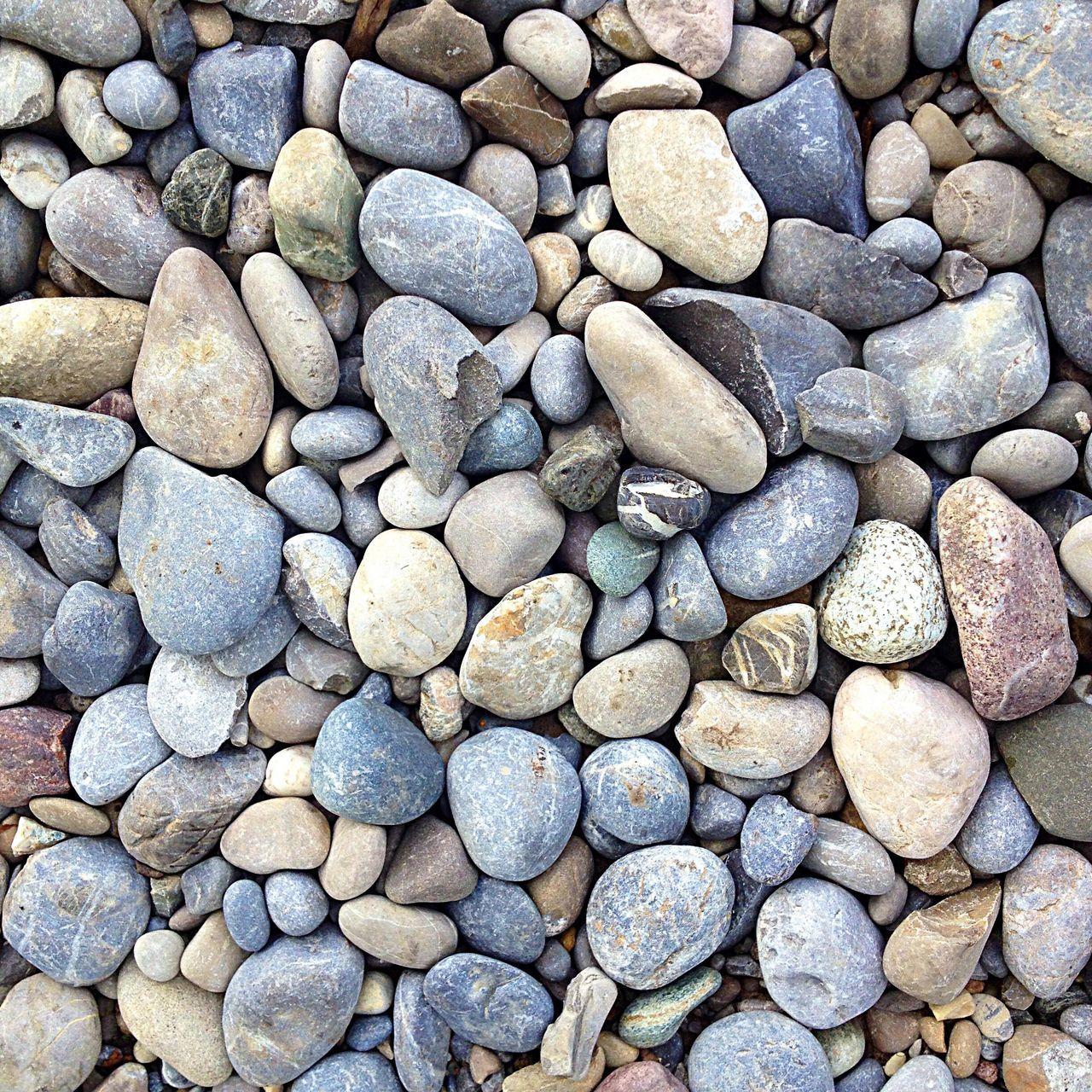Detail Shot Of Pebbles