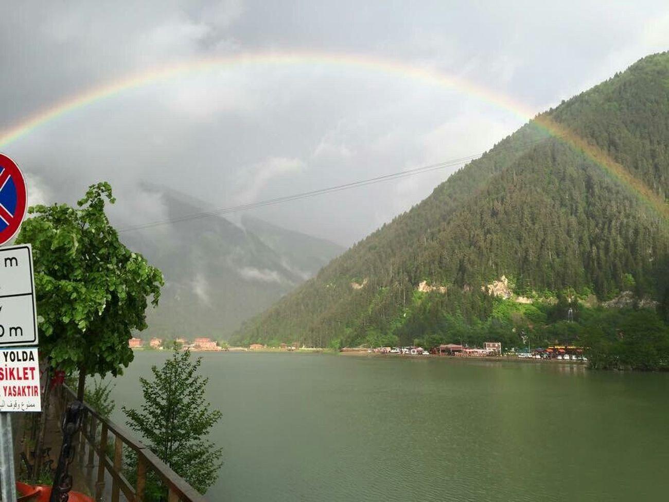 Trabzon Turkey  Trabzon Uzungol Turkey Çaykara Nature Greens Lake Rainbow Gokkusagi Turkey ♡