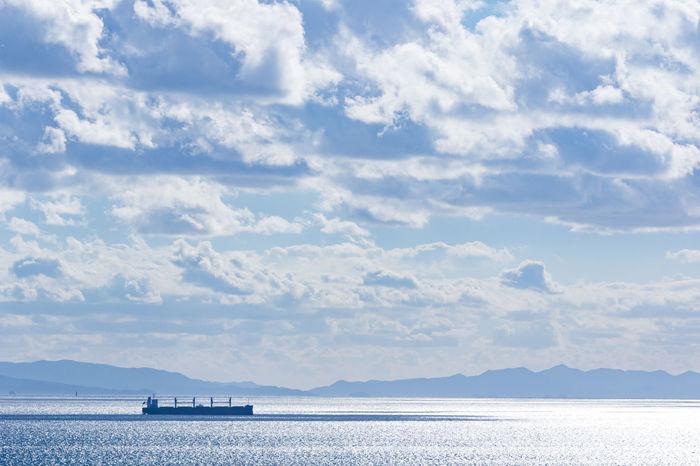 Boat Cloud Cloudy Day Nature Ocean Sea Sky Water