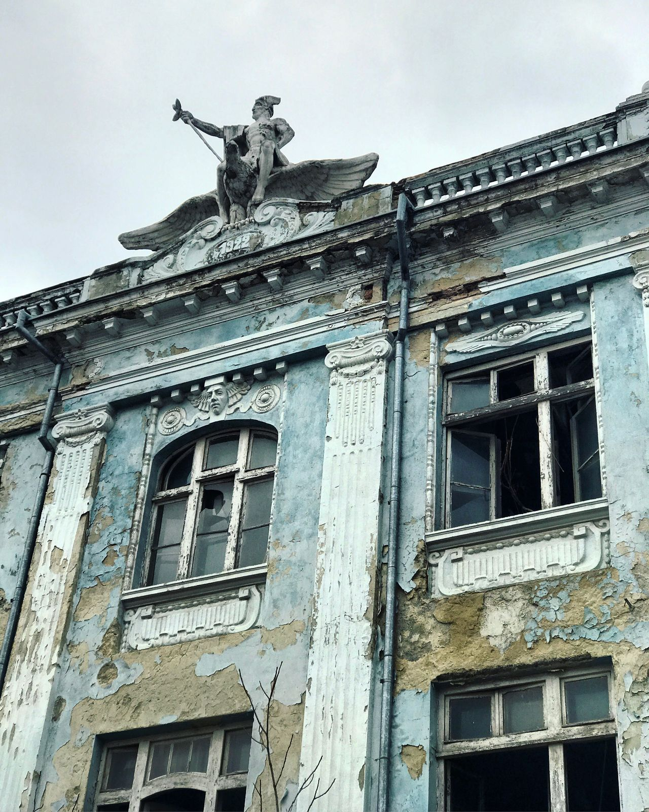 Building Exterior Built Structure Low Angle View Architecture Old Buildings Abandoned Abandoned Buildings