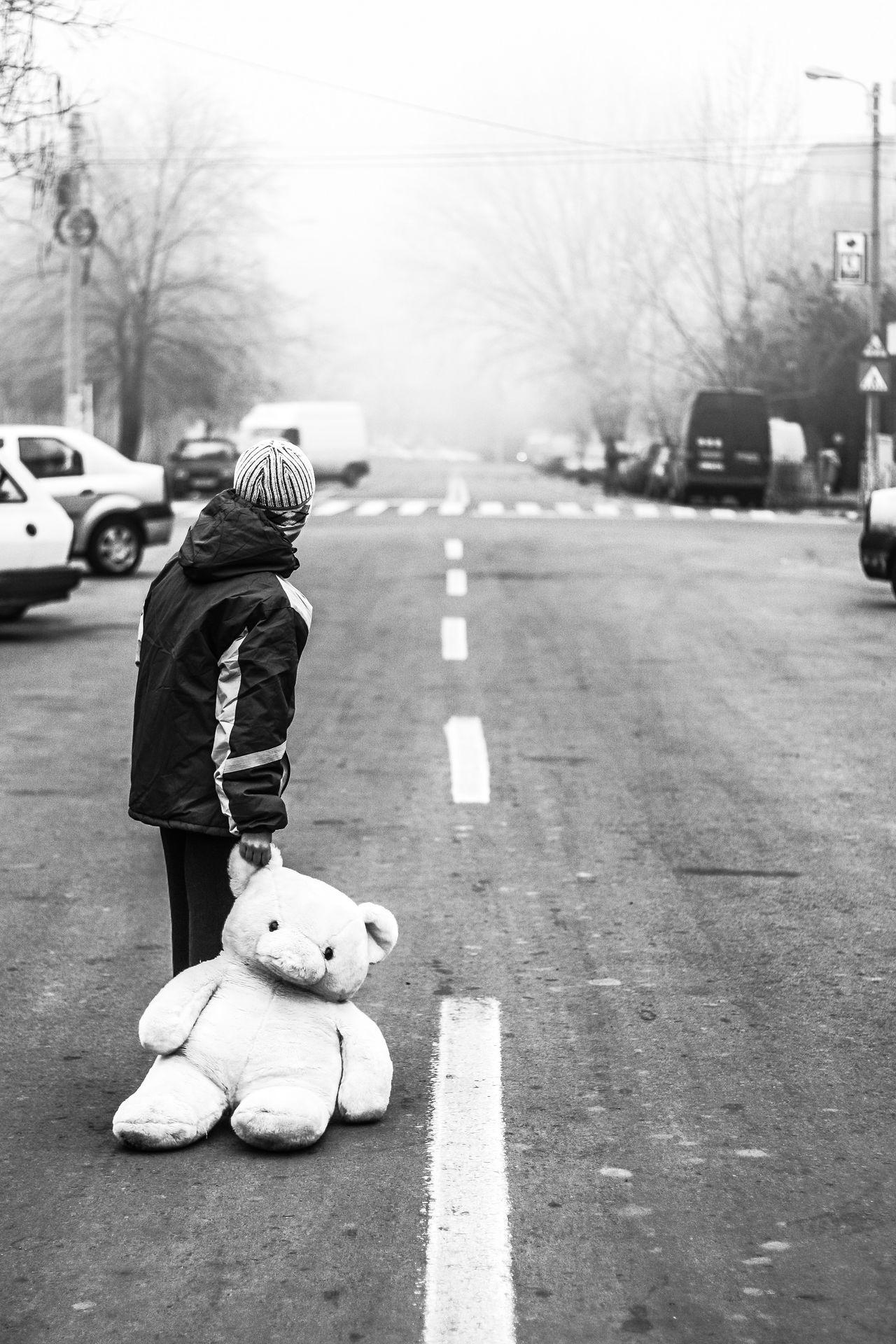 Beautiful stock photos of traurig, Animal Representation, Asphalt, Boys, Childhood