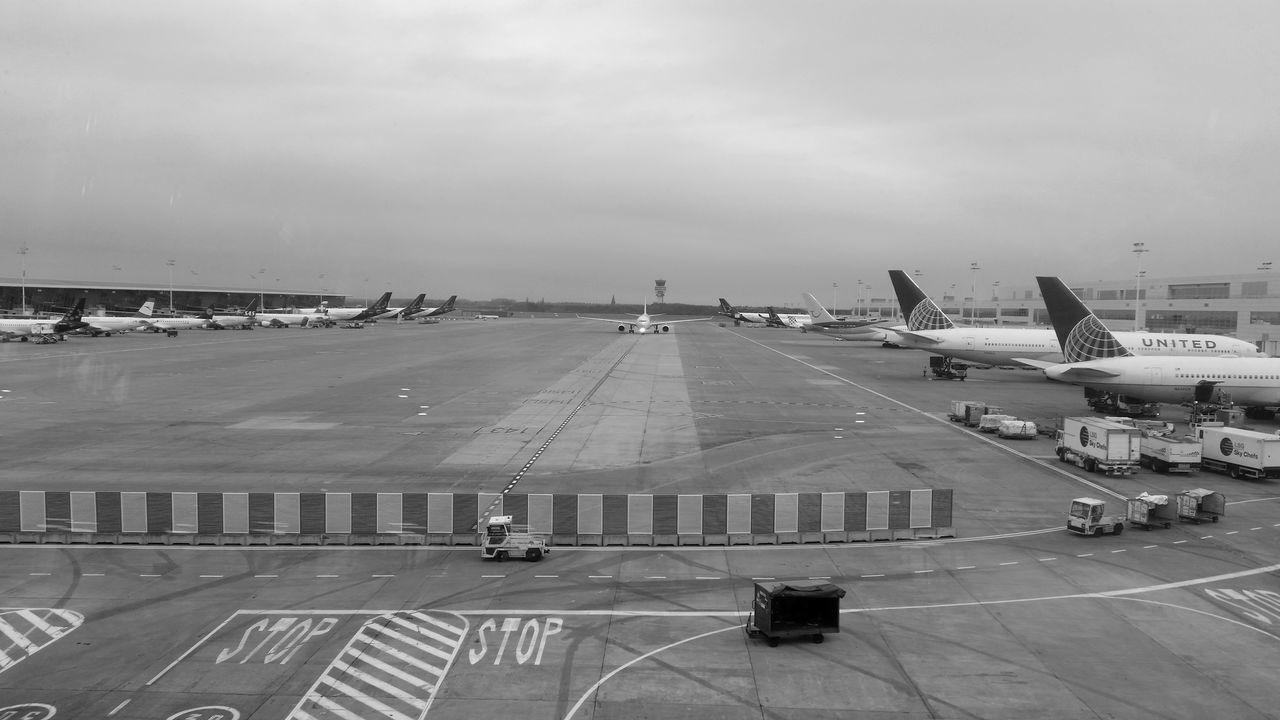 Air Vehicle Airplane AirPlane ✈ Airport Blackandwhite No People Transportation Travel