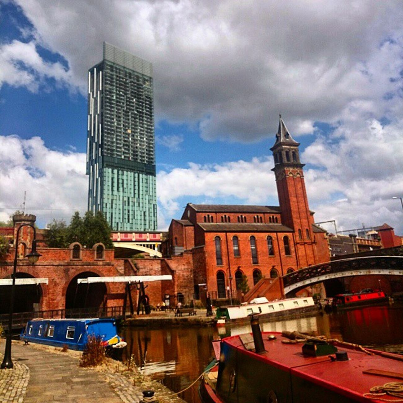 Castlefields Manchester Hiltonhotel MCR 2014 Beautiful Love Citycentre Citylife Uk
