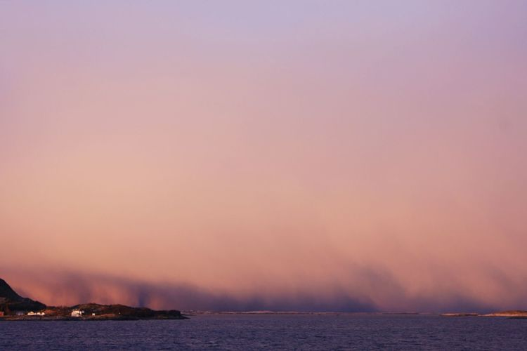 Day Fog Landscape Nature No People North Polar Sea Outdoors Scenics Sky Water