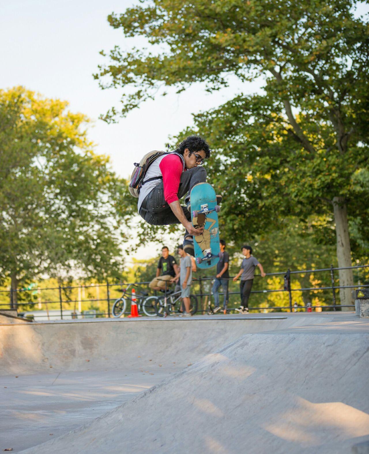 Sport In The City Skatepark New York City I Love My City Skateboarding David Gutierrez Pixelperfectnyc EyeEm Best Shots Amazing Tricks Newyorkcity