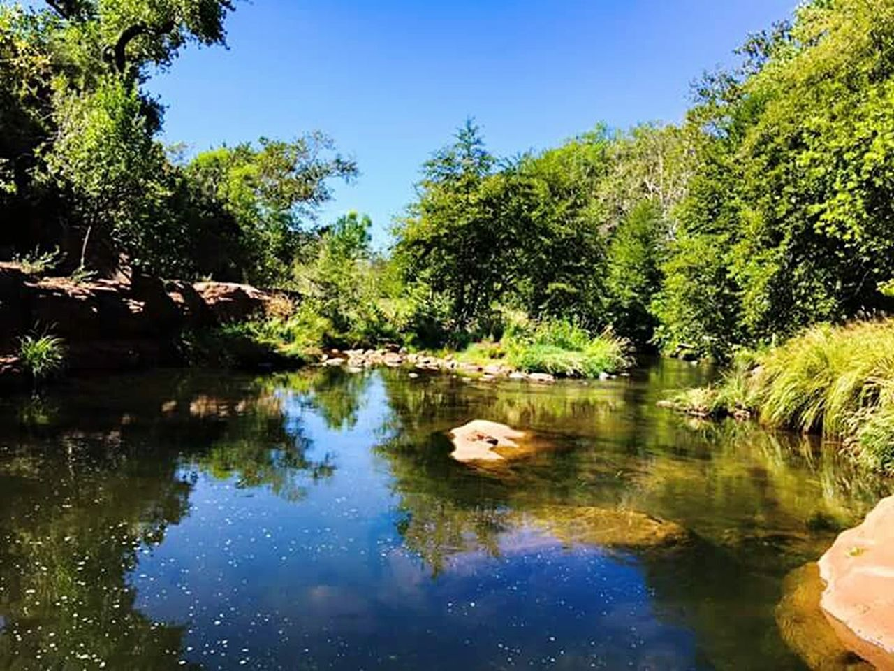 Reflection Water Blue Sky Outdoors Landscape Swimming Beauty In Nature Mountain Arizona Landscape