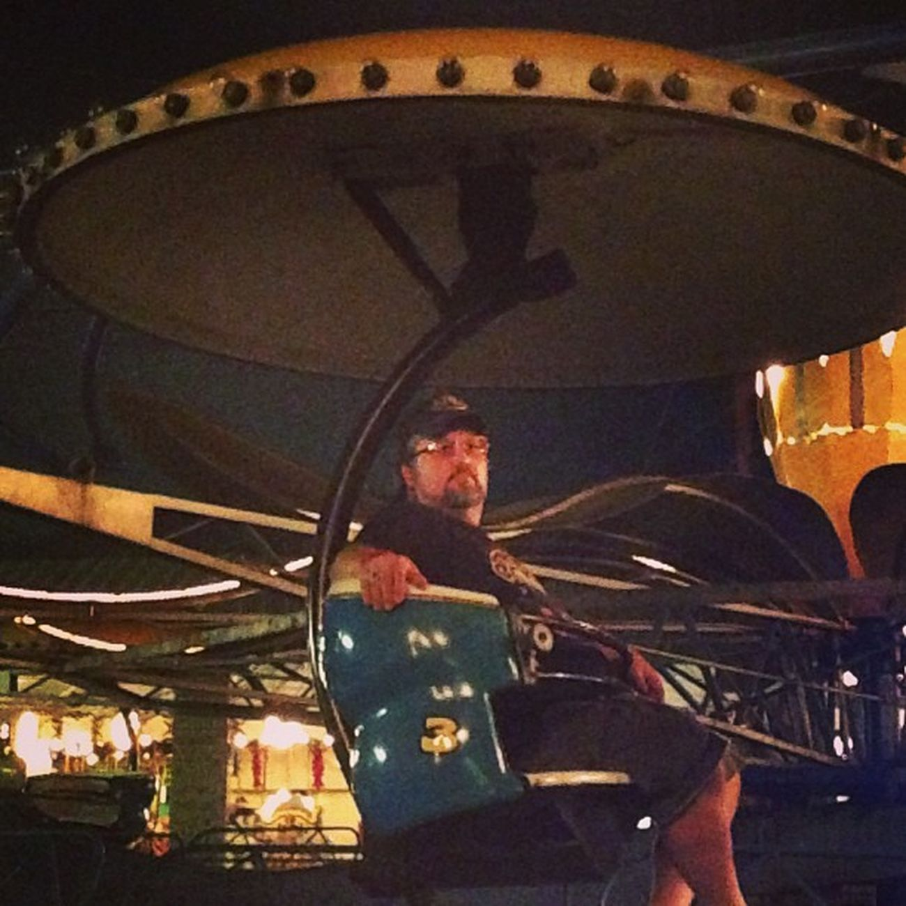 Jk chillin on the Paratrooper . Camdenpark Waynecountyfair