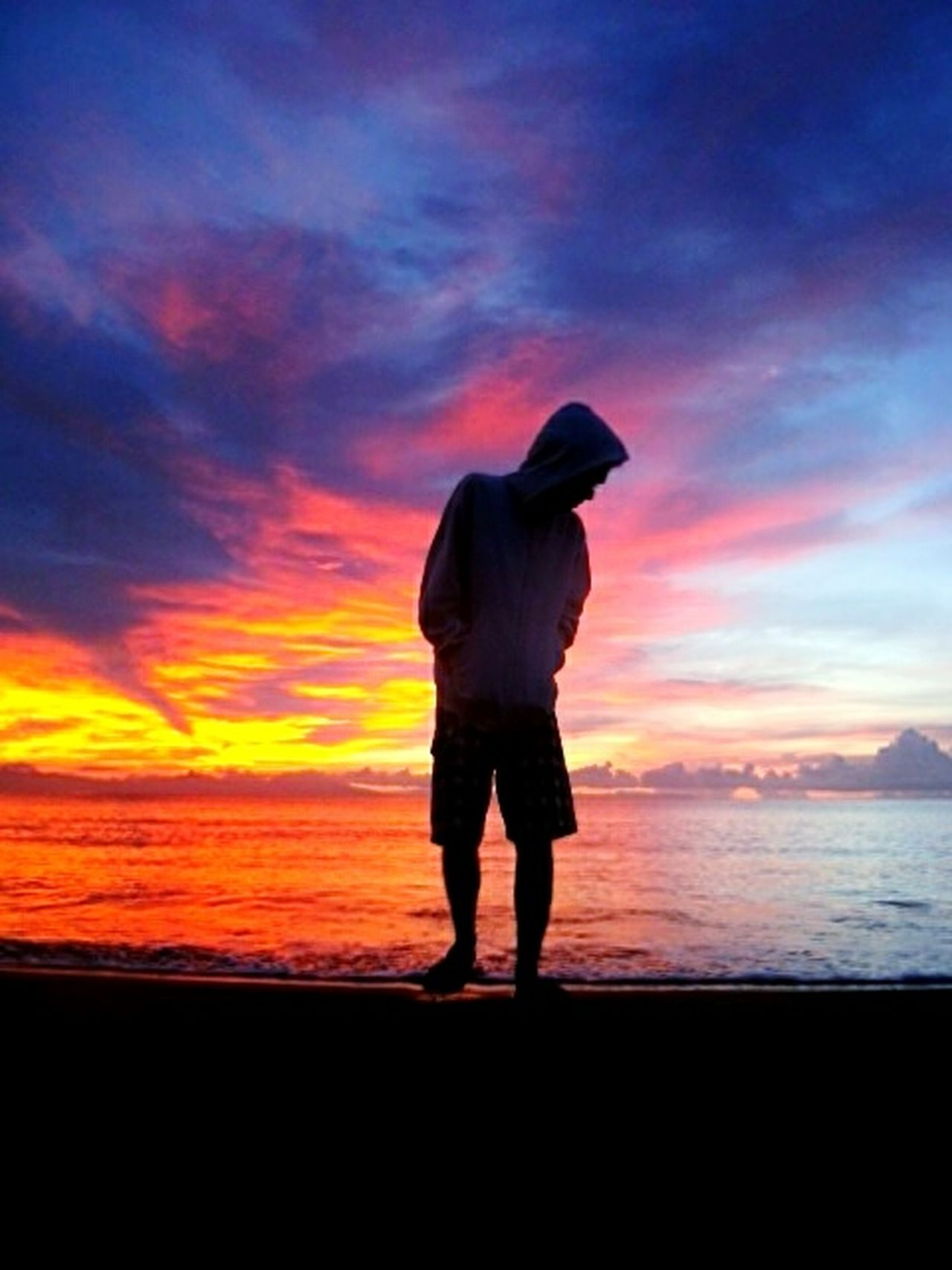 Sunrise Full Length Sunset Standing One Person One Man Only Only Men Men Silhouette Cloud - Sky Nature Adult Sky Business People Looking Down Outdoors Beauty In Nature EyeEmNewHere