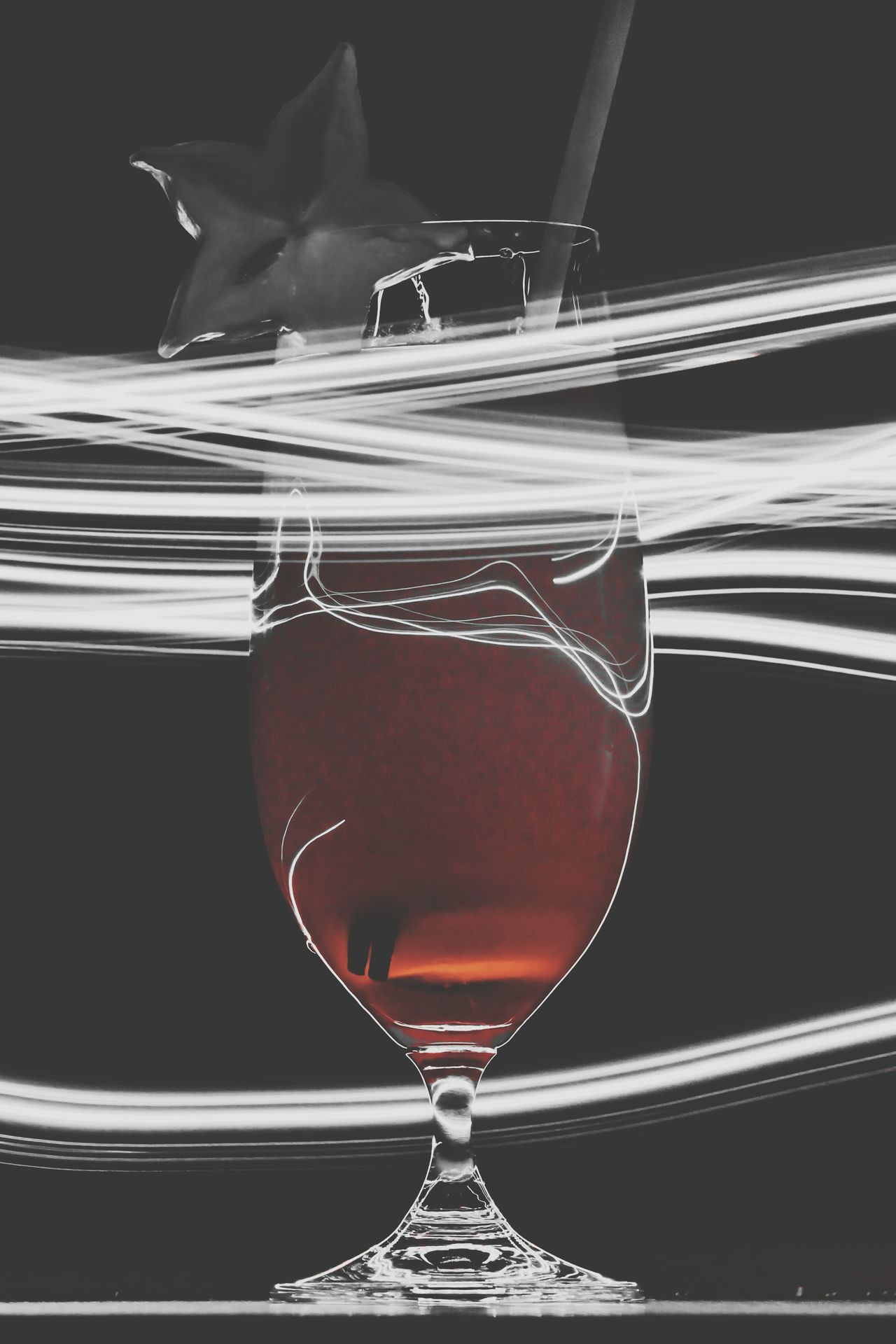 Edited Re Edited Re Edit/re Post Drinks Coctails Wallpaper Creative Light And Shadow Red Check This Out Taking Photos Glass Reflections Starfruit Liquid Lunch