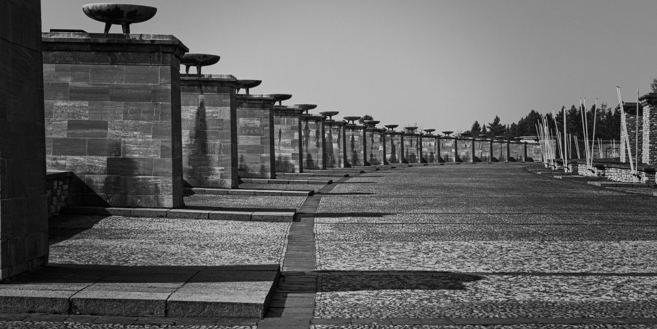 A truely dark and disturbing place: The Memorial of Buchenwald concentration camp. Shot at partial solar eclipse in 2015. Architecture Buchenwald Concentration Camp Concentrationcamp Dark Place Death Holocaust Hope Hopeless Memorial Mourning Pain Sadness Solar Eclipse Sun Torture World War II Blackandwhite Photography Black And White Black & White The Architect - 2016 EyeEm Awards