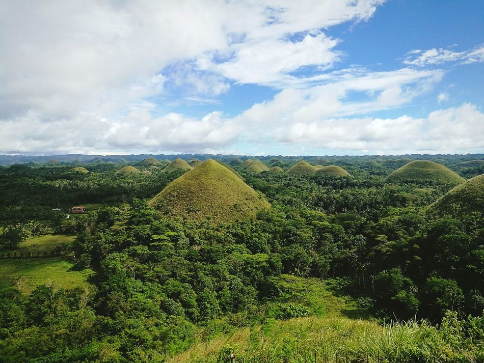 Landscape Beauty In Nature Chocolate Hills Bohol Philippines