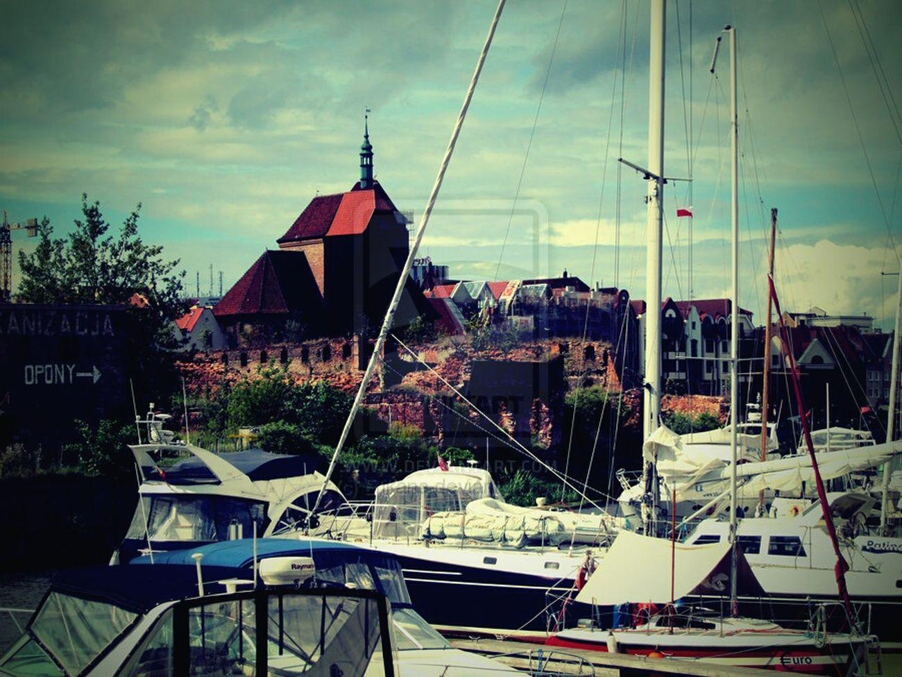 Gdansk Gdansk (Danzig) Marina Oldtown Yachts Gdanskiekadry Gdańskeye Old Buildings City Life Discover Your City