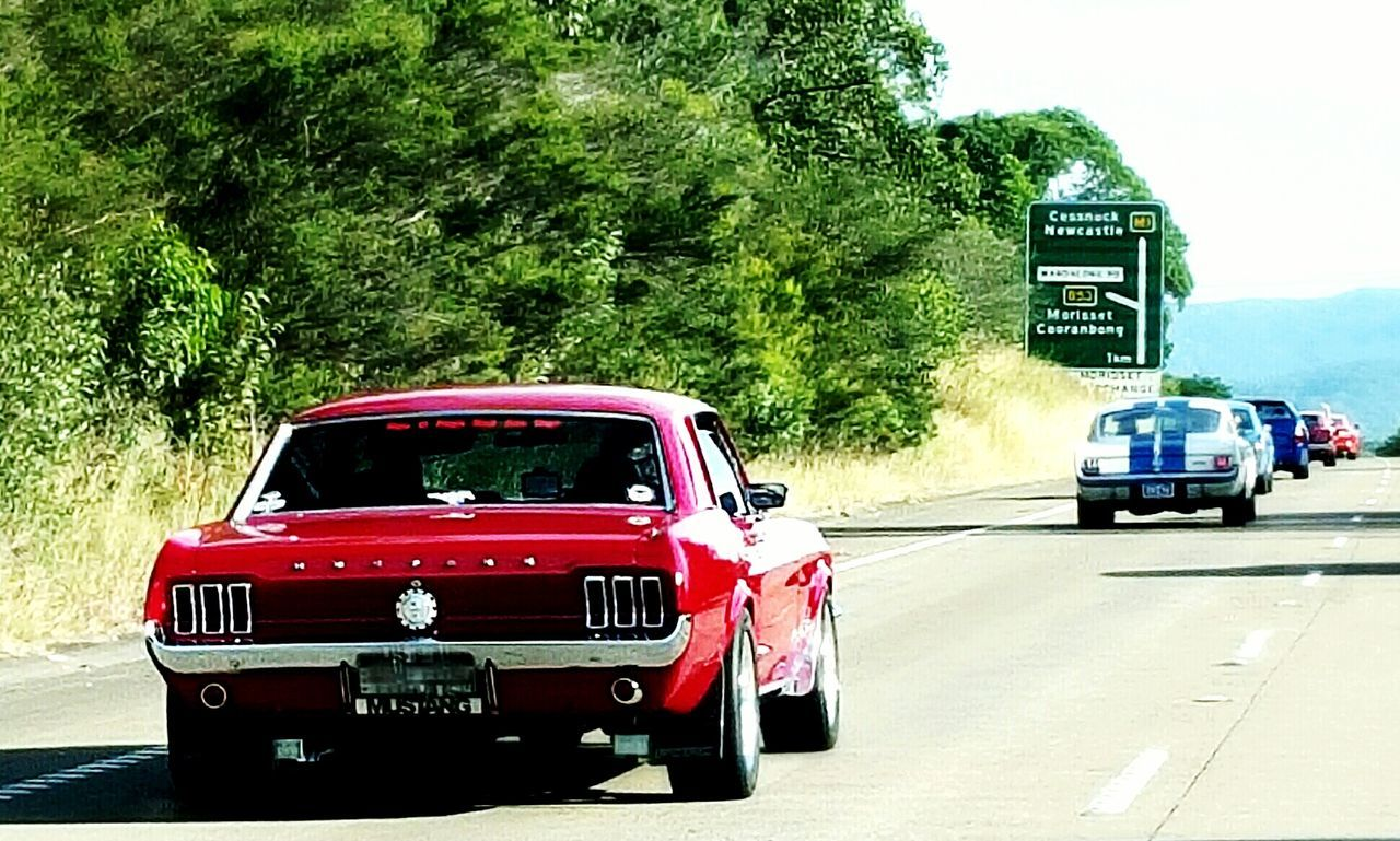 Taking Photos Mustang Roadtrip Oldcars Redcar Coolcars Enjoying Life Travel Freeway