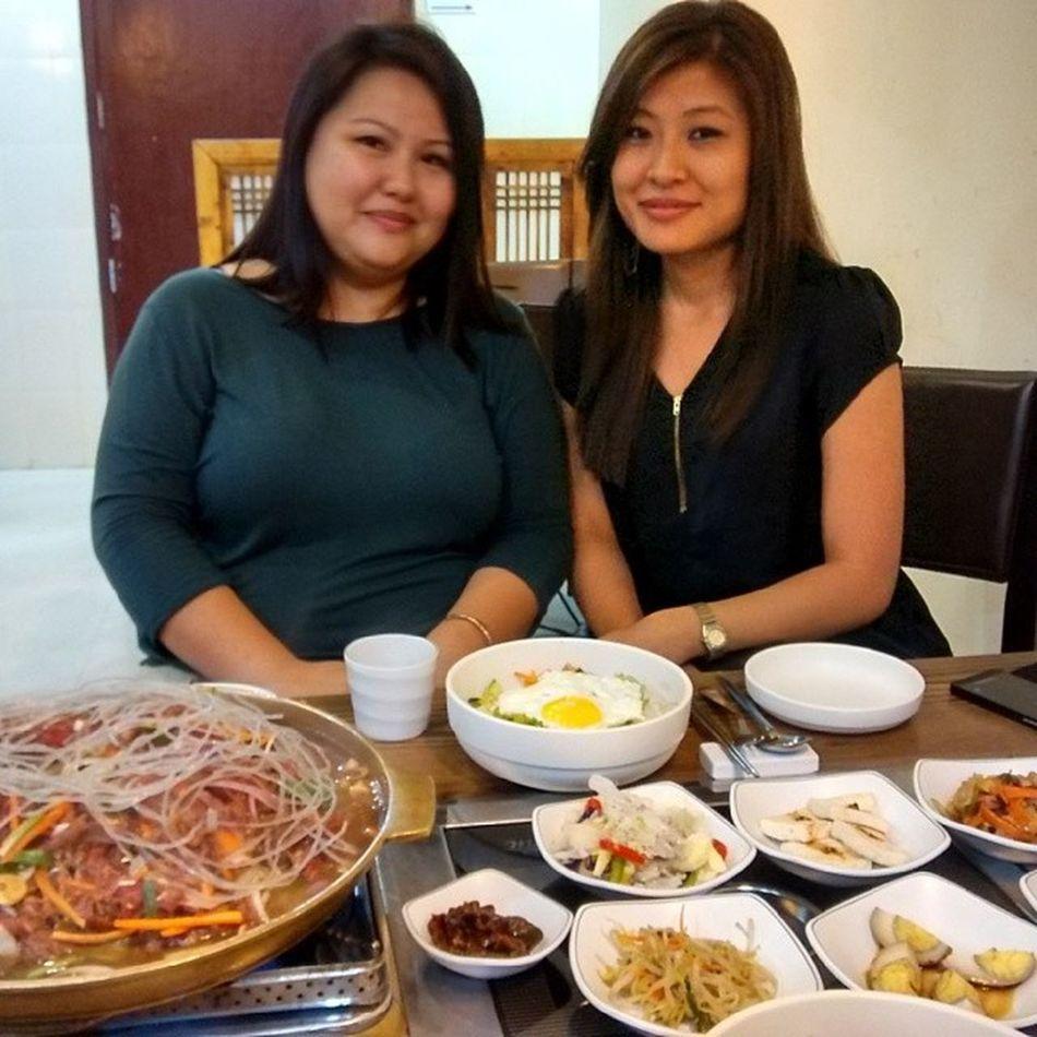 Look how much they ate. Heights Stuffed Korean Arirang Bangalore