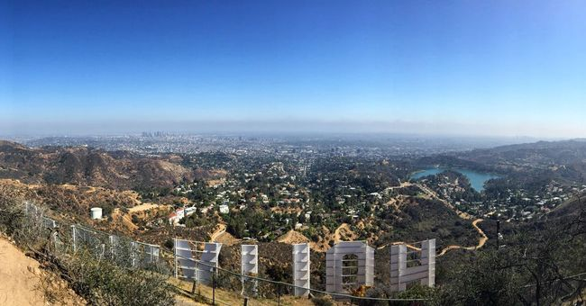 Hollywood Hollywoodsign Hollywood Sign Losangeles Los Angeles, California California Moviestar MOVIE Film Stars Skyline Shotwithiphone6 IPhoneography