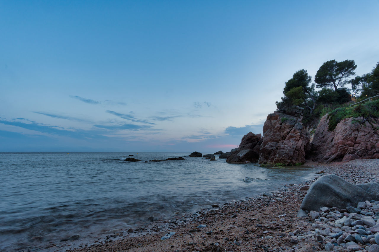 Beach Beauty In Nature Day Horizon Over Water Long Exposure Nature No People Outdoors Rock - Object Scenics Sea Sky Tranquil Scene Tranquility Walimex 12mm Water