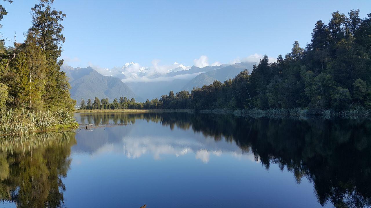 Fox Glacier New Zealand South Island Lake Matheson