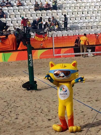 Mascote Mascot Vinicius Rio2016 Beach Volleyball Sport Sports Photography Sports Arena Eye4photography  EyeEm Gallery EyeEm Best Shots Rio De Janeiro Brazil Brasil Rio2016olympics Olympics Olympic Park  Olympic