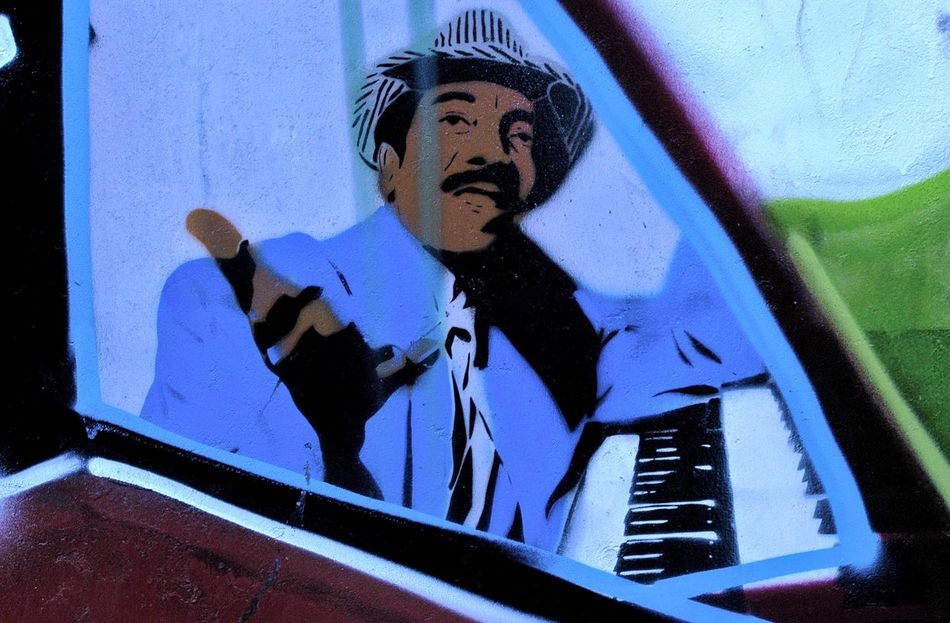 Art Is Everywhere Arts Culture And Entertainment Brussels Day Music Musical Instrument Musician Outdoors Painting Pianist Piano Street Art
