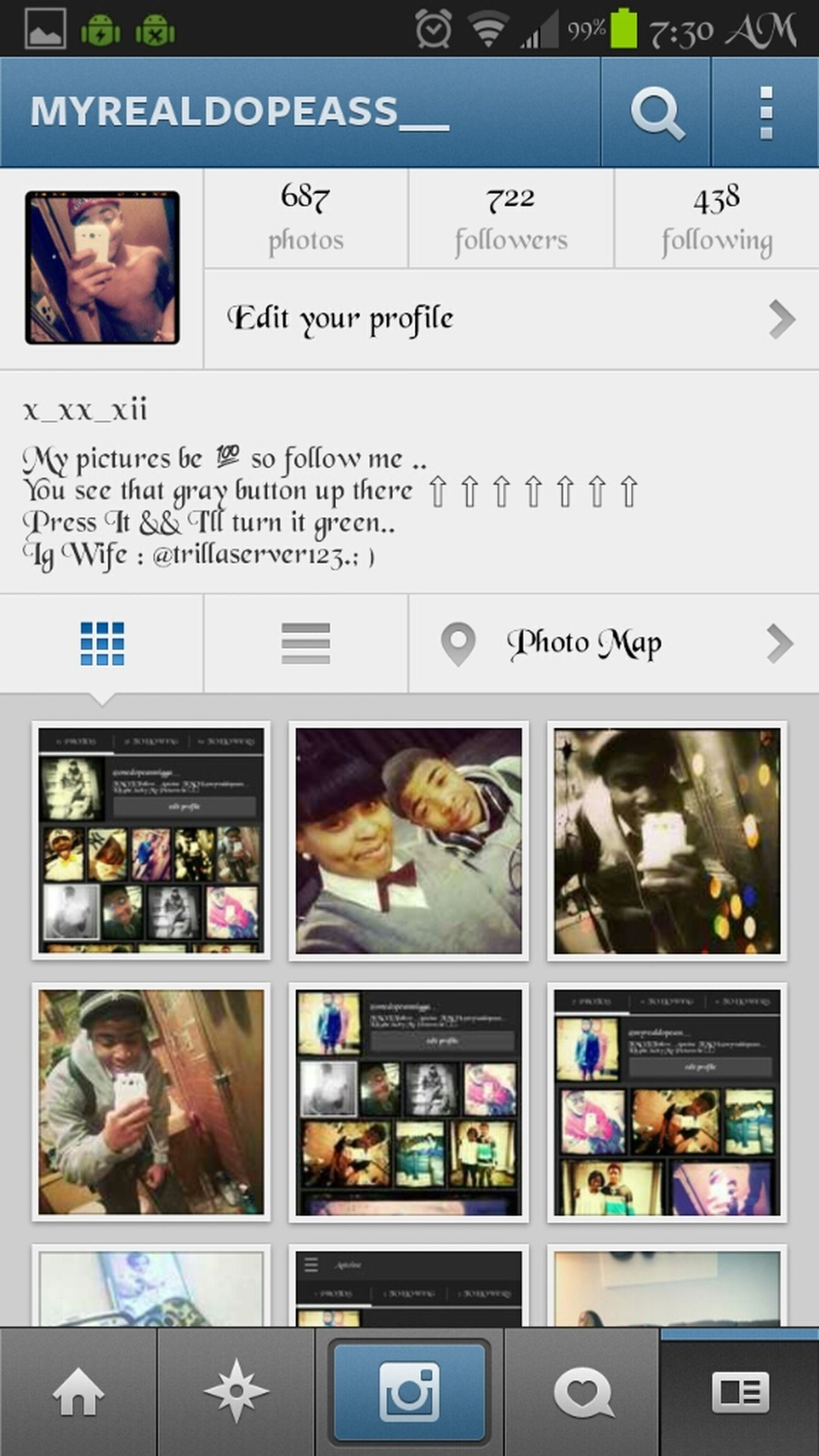 Follow Me On Instagram.