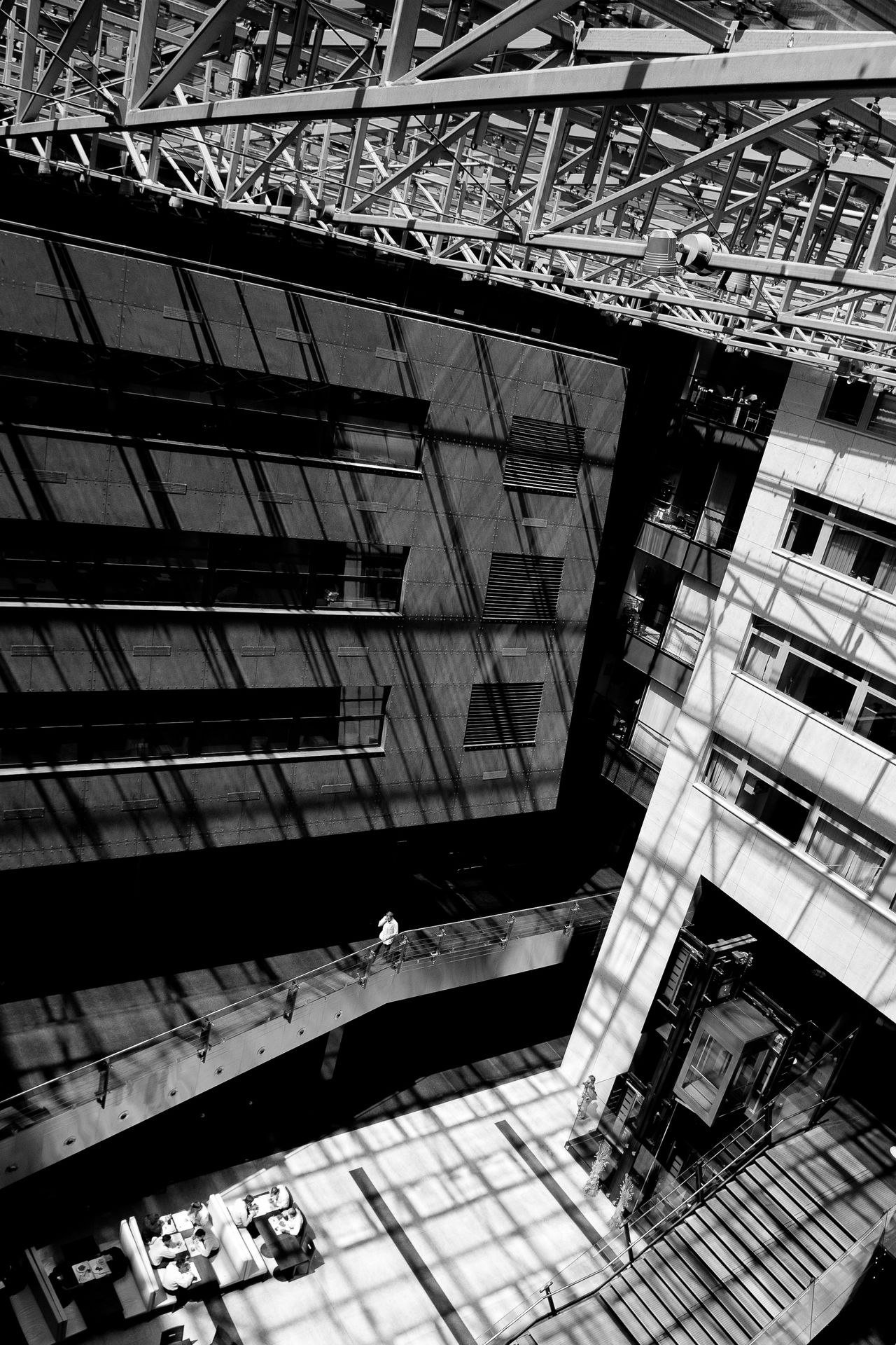 Architectural Feature Architecture Atrium Building Built Structure Day High Angle View Modern The Architect - 20I6 EyeEm Awards The Architect - 2016 EyeEm Awards