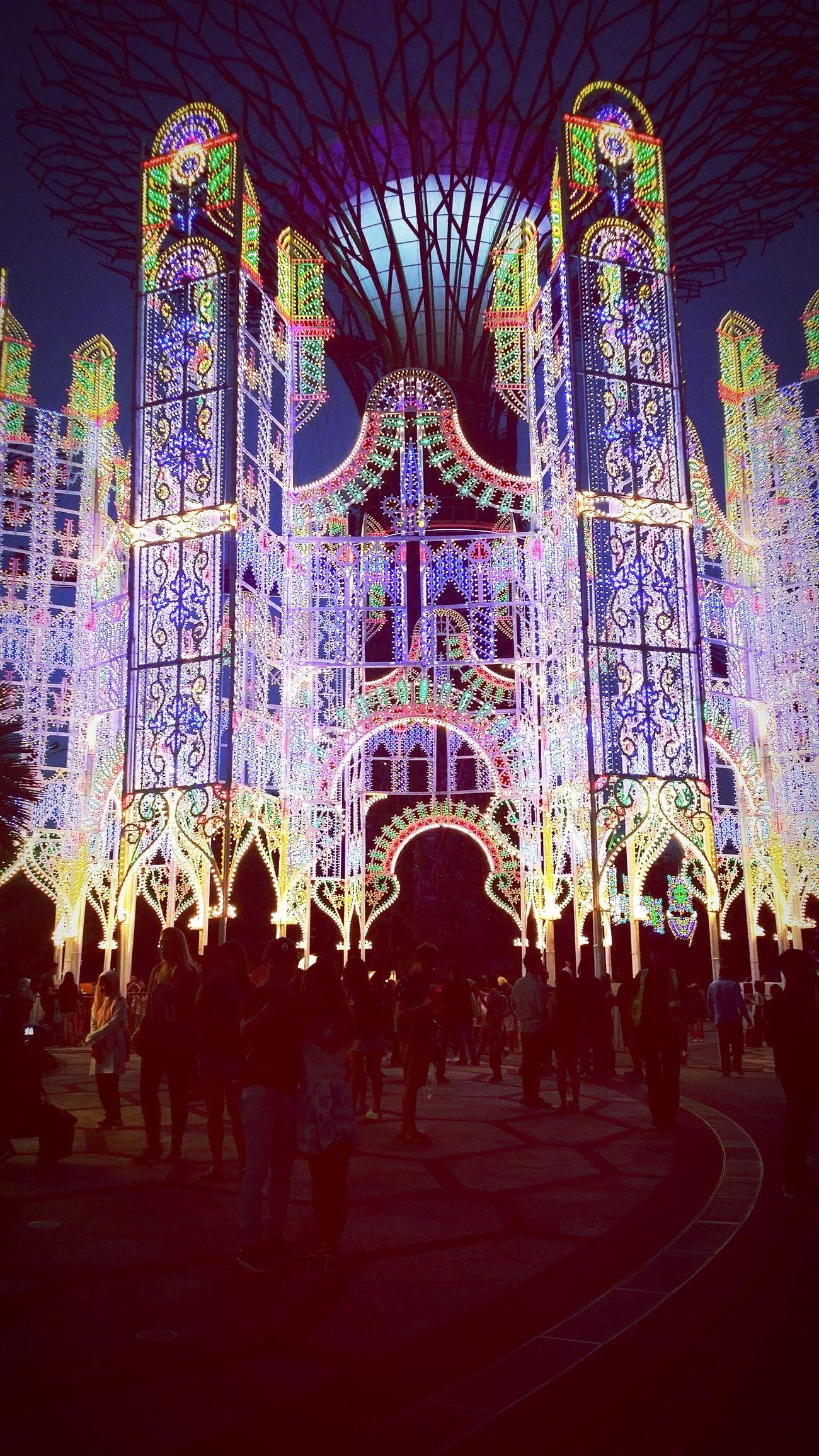 Christmaswonderlandsg Christmaswonderland MerryChristmas Illuminated Night Sky Celebration Christmas Lights Outdoors Multi Colored