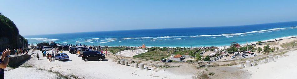 Being A Beach Bum Enjoying The Sun White Sand Beach Ocean Breeze Foamy White Wave.