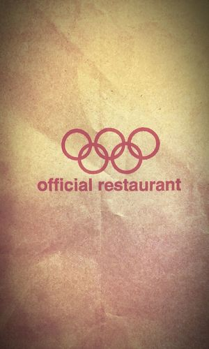 TheOlympicgames Olympic Games McDonald's The Olympics Olympics Signs & More Signs Mcdonalds Olympic Theolympics  Signporn Olympicgames Olympians Signs Olympiad The Olympic Games Olympian Macca's Mc Donald's Symbols Maccas Mc Donalds I'm Lovin' It I'mlovin'it Sign Official Olympic Restaurant