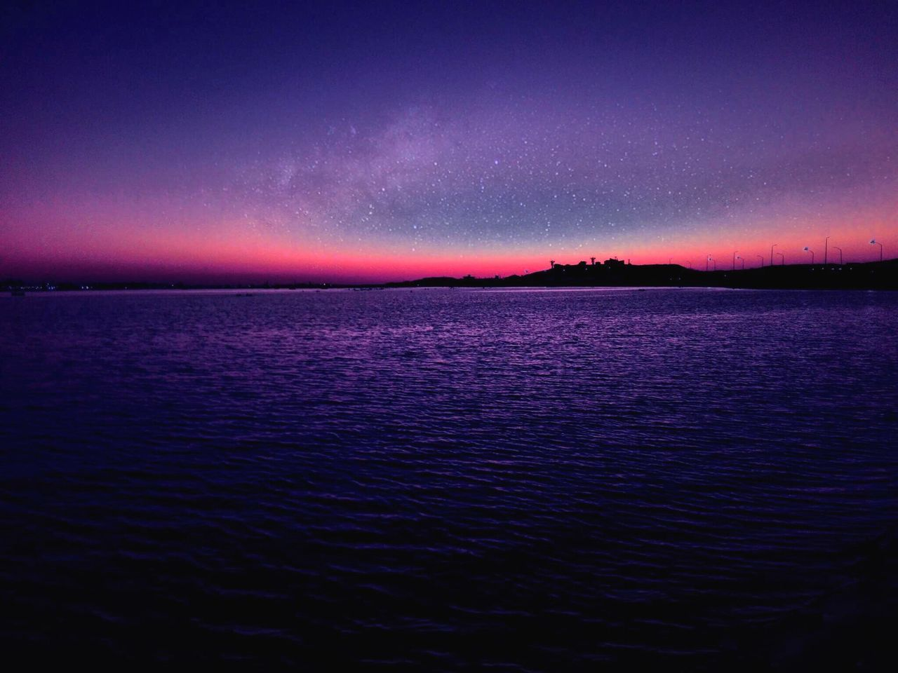 The Great Outdoors - 2017 EyeEm Awards Myshot Littlebitofediting Stars Sunset Sea And Sky Dreaming Space Matrouh RedSea Egypt Tourism Travel IPhoneography Travel Photography